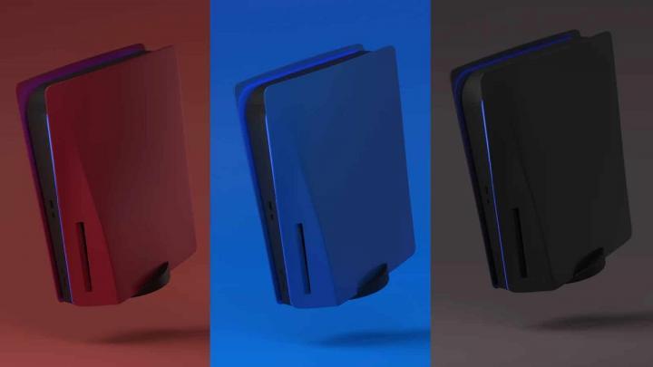 کنسول PS5 خود را رنگی کنید